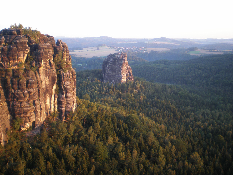 Die Affensteine in Sachsen